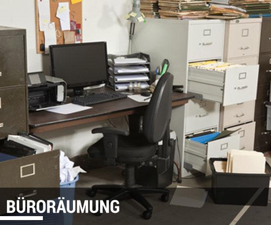 Büro räumen lassen